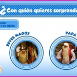 Video personalizado de Los Reyes Magos o Pap Noel