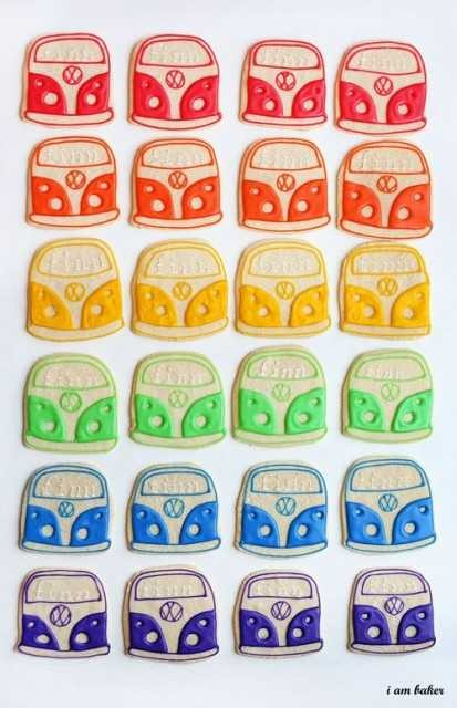 Galletas VW Bus